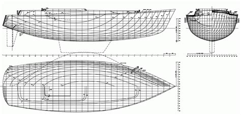 Boat Lines by D1420 Lines Plan Boat Design Net Gallery