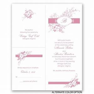 cherry blossoms separate and send invitation ann39s With wedding invitations separate and send
