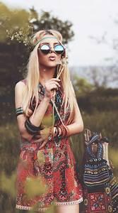 Hippie Look 70er : hippie kost m selber machen boho kleider pinterest ~ Frokenaadalensverden.com Haus und Dekorationen