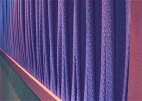 Sound Deadening Curtains by Polymers In Production