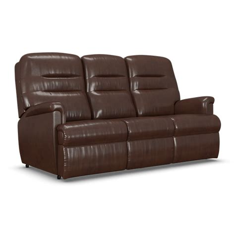 seater powered recliner sofa   fabric