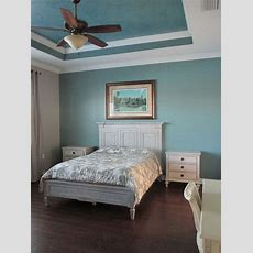 Master Retreat Headboard Wall In Sherwin Williams