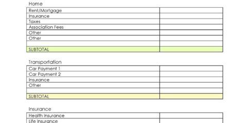daycare expense spreadsheet google spreadshee daycare