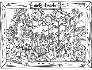 40 best images about Coloring Pages on Pinterest | Gardens ...