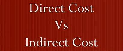 Indirect Direct Cost Between Difference Chart