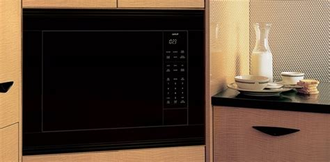 wolf ms  microwave oven built   countertop