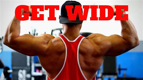 Back Workout For THICK & WIDE LATS - YouTube