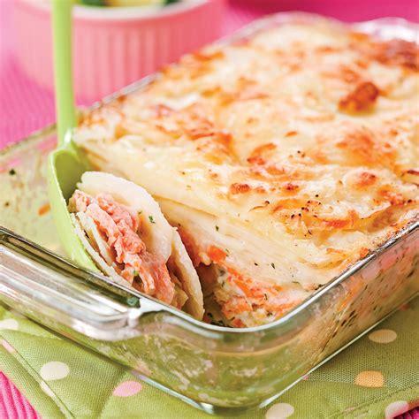 saumon cuisine gratin de saumon recettes cuisine et nutrition