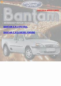 Ford Bantam 2002 Wiring Diagrams Service Manual Download