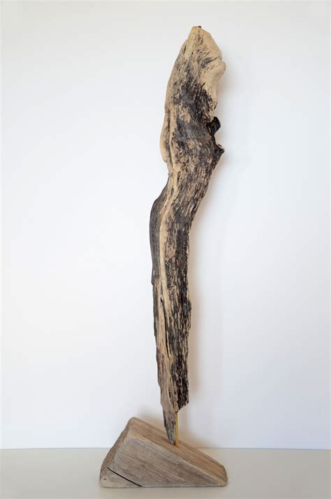 stehle aus treibholz treibholz skulptur impulse driftwood sculpture