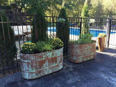 Paint Colors For A Rustic Living Room by Hometalk Copper Patina And Rust Container Gardens