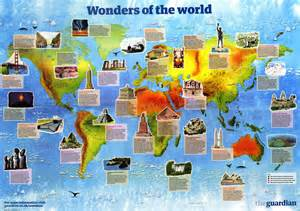 Ancient 7 Natural Wonders of the World