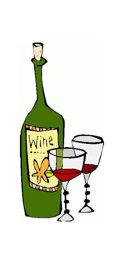 Wine Clip Clipart Bottle Glass Glasses Steward