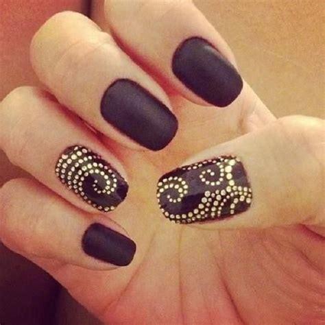 black nail designs 80 brilliant nail images