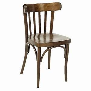 Chaise Bistrot Bois : chaise bistrot noyer ~ Teatrodelosmanantiales.com Idées de Décoration