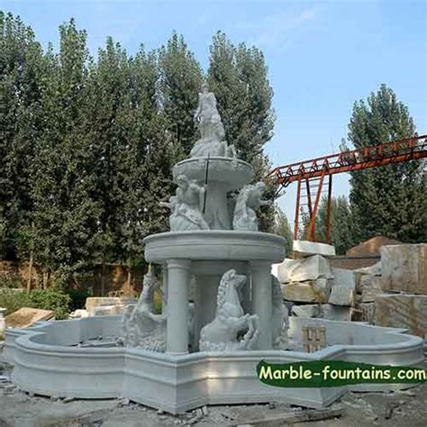 large italian marble fountains for pond and large