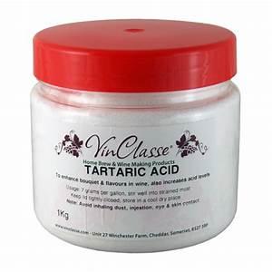 Vinclasse Tartaric Acid 1kg Bulk Tub - Balliihoo Home Brew