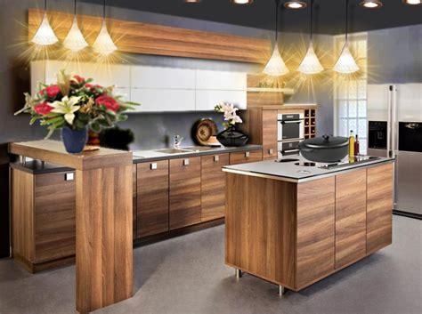 cuisine djeco bois idée déco une cuisine en bois chic et moderne floriane