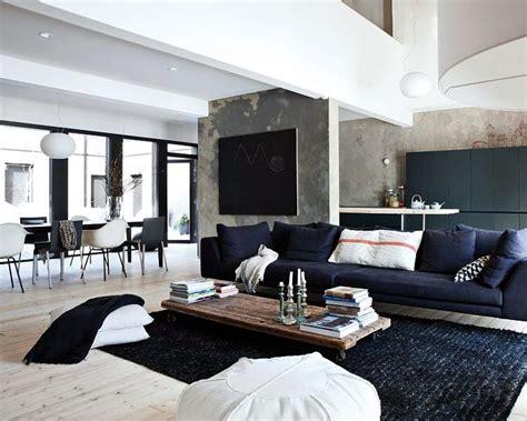 Décoration Salon Loft Moderne