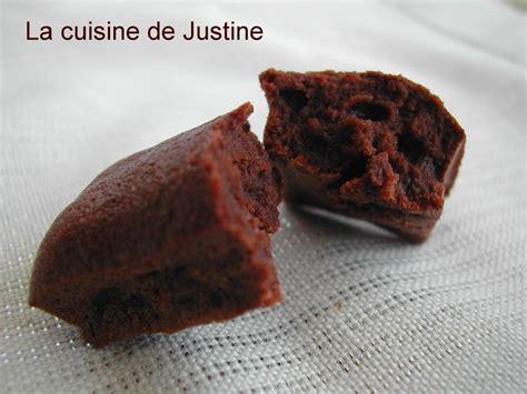 mini gateau au chocolat
