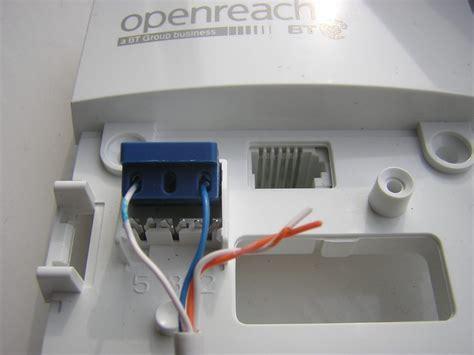 Openreach New Ntec Master Socket Faster Broadband