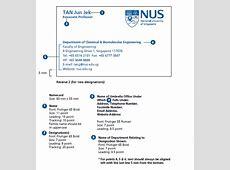 NUS National University of Singapore Identity
