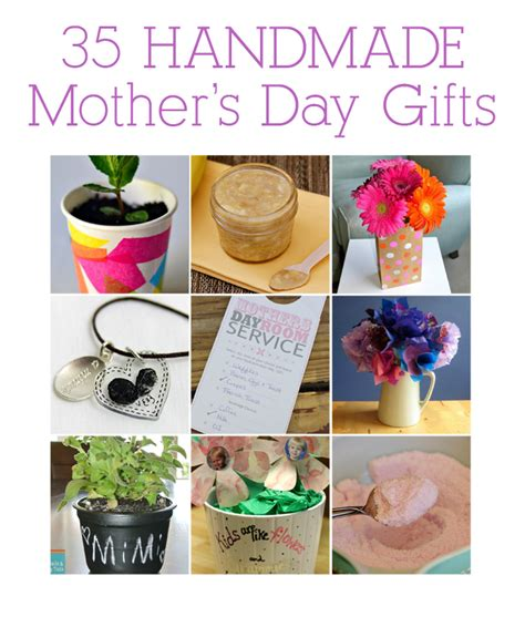 home made gifts for mothers day tot school tuesday 35 handmade mother s day gifts see vanessa craft