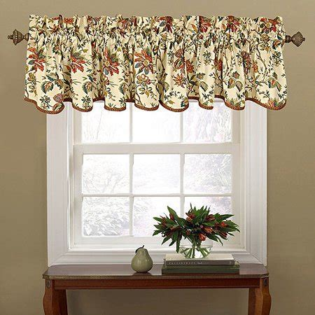 waverly valances waverly felicite window valance walmart