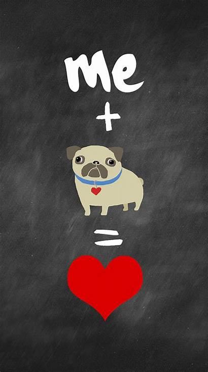 Pug Phone Wallpapers Cartoon Pugs Galaxy Iphone