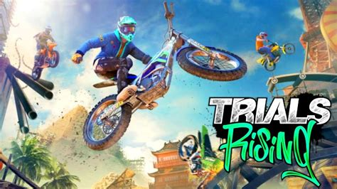 Trials Rising Review - Just Push Start