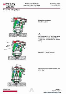 Terex Atlas 1305m 1505m 1605  1705m Service Manual Pdf Download