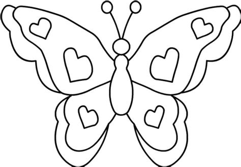 butterfly coloring page coloring page book  kids