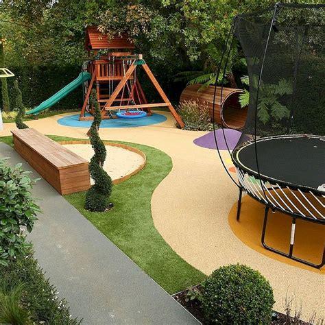 30 Awesome Backyard Playground Landscaping Ideas Roomodeling