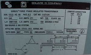 Square D Dry Type Transformer