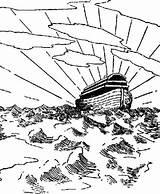 Flood Coloring Designlooter Drawings Noahs Ark 731px 98kb sketch template