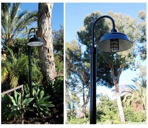 bomber single post mount light barn light electric