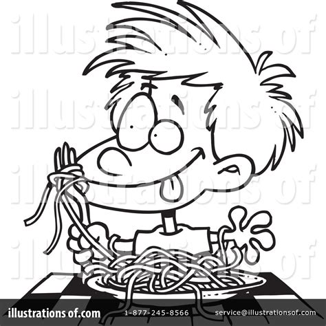 spaghetti clipart black and white spaghetti clipart 1048331 illustration by toonaday