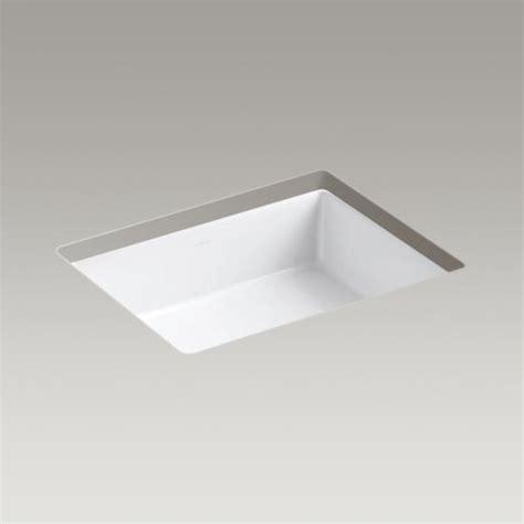 kohler verticyl sink template kohler canada k 2882 verticyl 174 rectangular mount