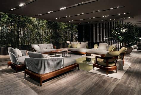 luxus garten loungemoebel indiana kollektion von minotti