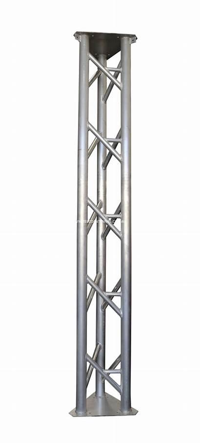 Lattice Tower Guyed Aluminium Duty Heavy 30m