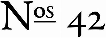 Numero Symbol Stack