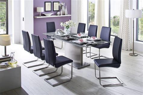impressionnant grande table en verre de salle a manger et table de salle manger moderne en 2017