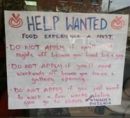 funny job ads thatll     change careers