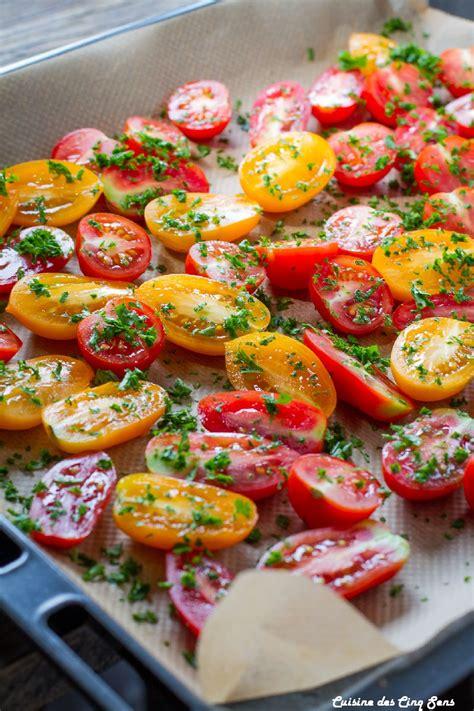 tomates confites cuisine des cinq sens