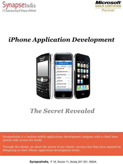 ebooks for iphone iphone application development ebook