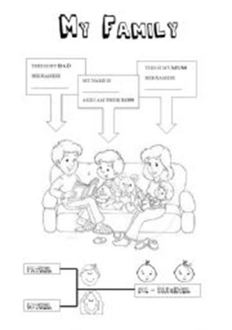family kindergarten level esl worksheet  lavilavi