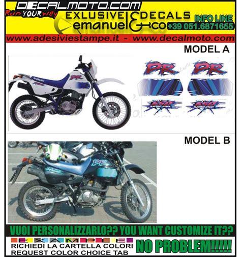 1994 Suzuki Dr650 by Adesivo Dr 650 1994 Re