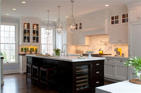 white kitchen with black island kitchen island in black the house that a m built