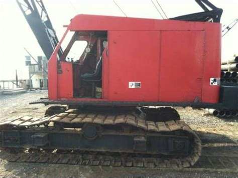 50s ls for sale link belt crawler crane ls 108 used 50 ton for sale