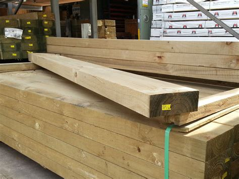 Pine Sleepers by Buy Treated Pine Sleeper H4 Cca 200mmx75mm Demak